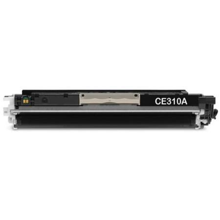 HP 126A Black Remanufactured Toner Cartridge (CE310BK)