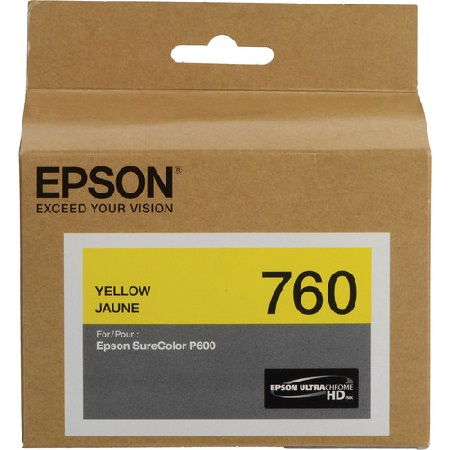 Epson T7604 (T760420) Yellow Original Ink Cartridge