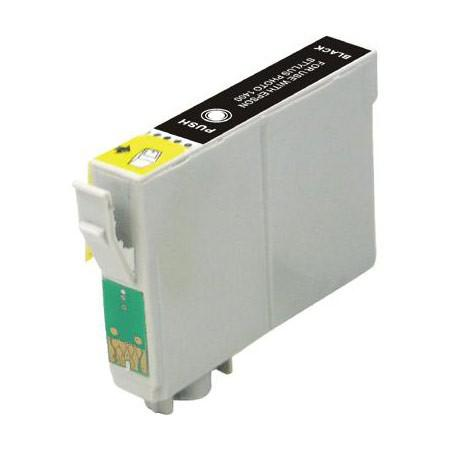 Epson T066 (T066120) Black Remanufactured Ink Cartridge