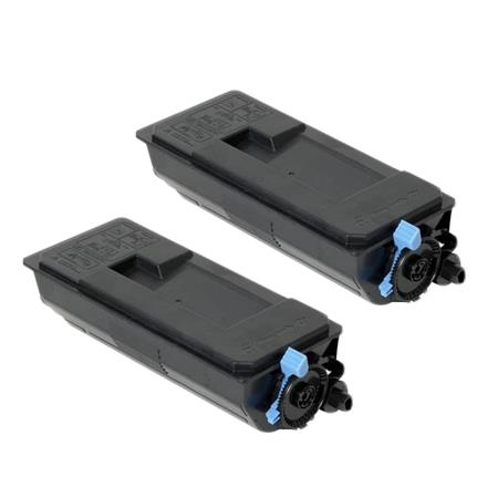 TK-3112K Black Remanufactured Toners Twin Pack