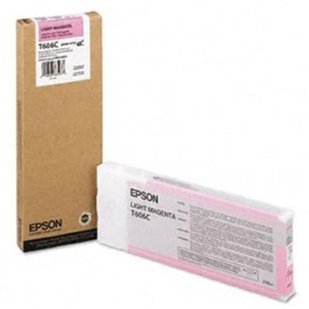 Epson T606C Original Light Magenta Ink Cartridge