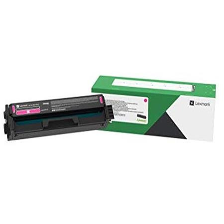 Lexmark C331HM0 Original Magenta High Yield Toner Cartridge