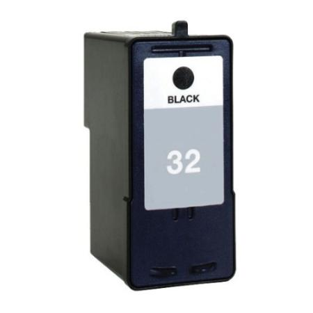 Lexmark No. 32 (18C0032) Black Remanufactured Inkjet Print Cartridge
