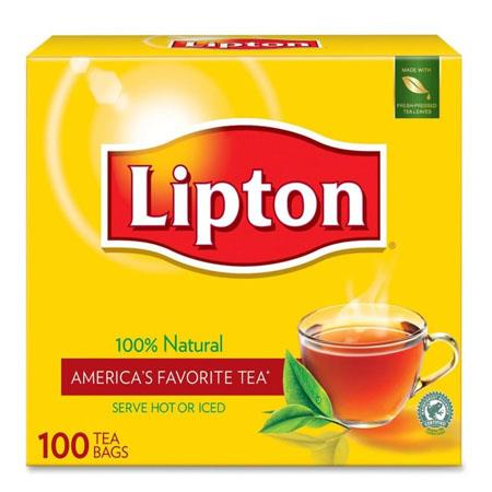 Lipton Tea Bags  Regular  100/Box