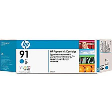HP 91 (C9467A) Original Cyan Ink Cartridge