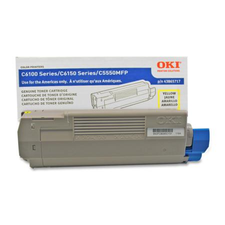 OKI 43865717 Yellow Original Toner Cartridge