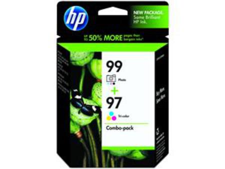 HP 97-98 Black and Tri-Color Original Combo-pack Ink Cartridges