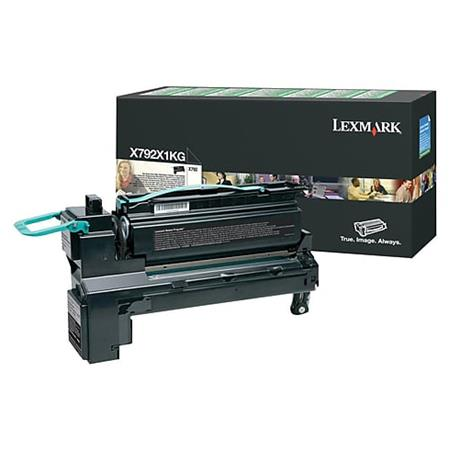 Lexmark X792X1KG Black Original Extra High Capacity Return Program Toner Cartridge