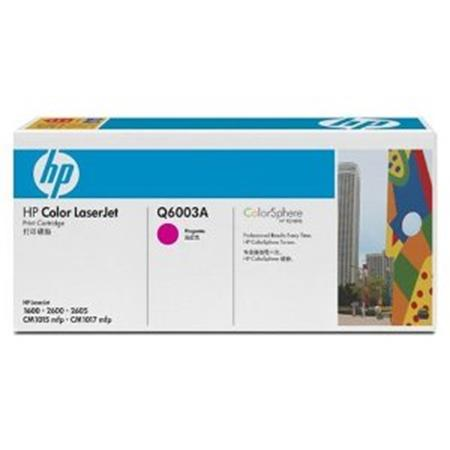 HP Color LaserJet Q6003A Magenta Original Print Cartridge with Smart Printing Technology