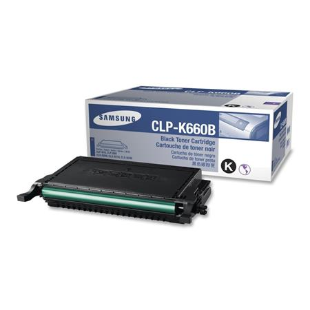 Samsung CLP-K660B Black High Capacity Original Toner Cartridge