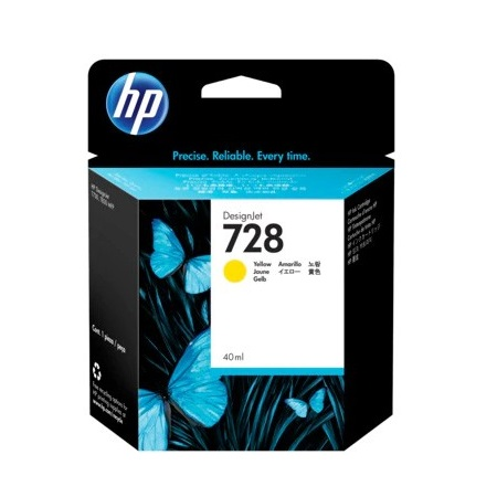 HP 728 (F9J61A) Yellow Original Standard Capacity Ink Cartridge