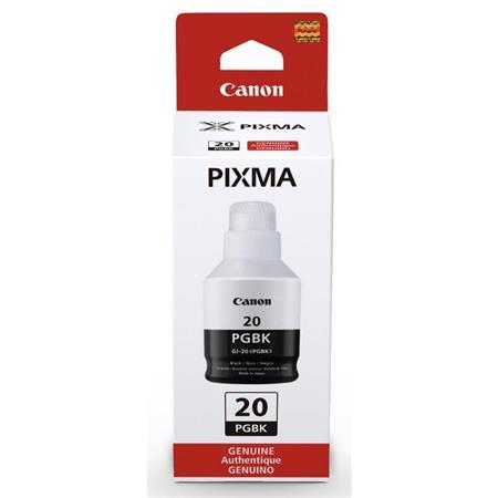 Canon GI-20BK Pigment Black Original Ink Bottle