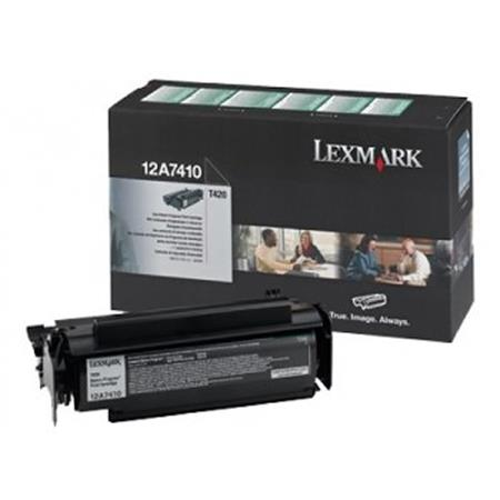 Lexmark 12A7410 Original Black Return Program Cartridge