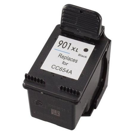 Compatible Black HP 901XL High Yield Ink Cartridge (Replaces HP CC654AN)