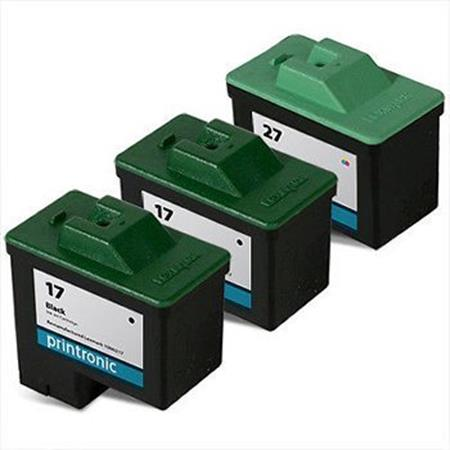 Clickinks No.17/No.27 Full Set + 1 EXTRA Black Remanufactured Ink