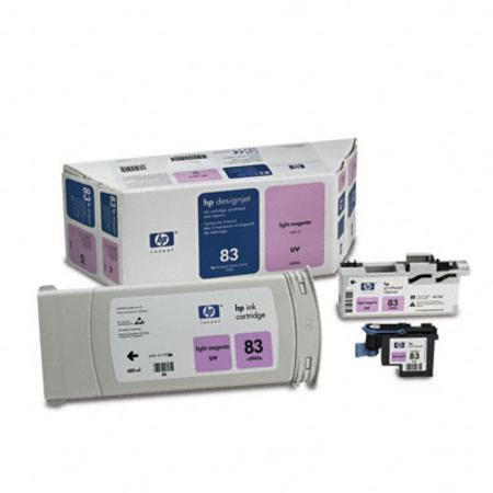 HP 83 Original Light Magenta UV Value Pack (C5005A)