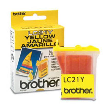 Brother LC21Y Yellow Original Print Cartridge