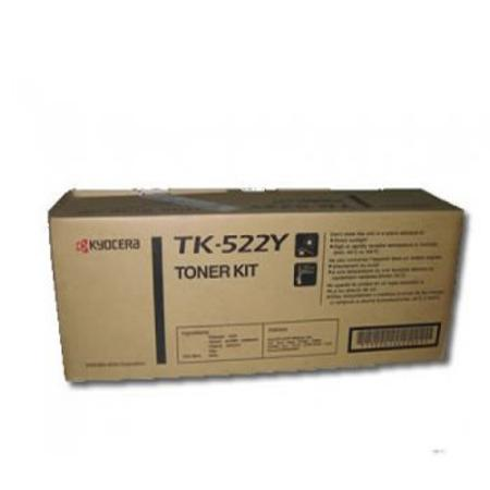 Kyocera TK-522Y Original Yellow Laser Toner Cartridge