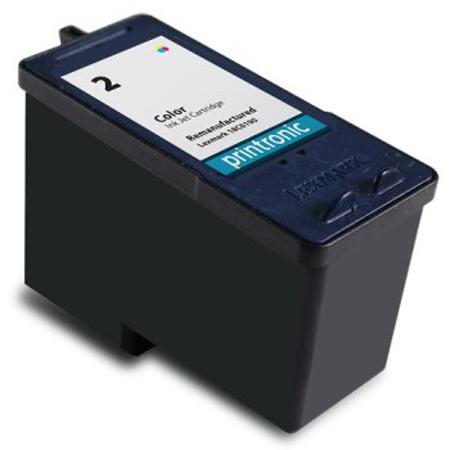 Lexmark No. 2 (18C0190) Color Remanufactured Ink Cartridge