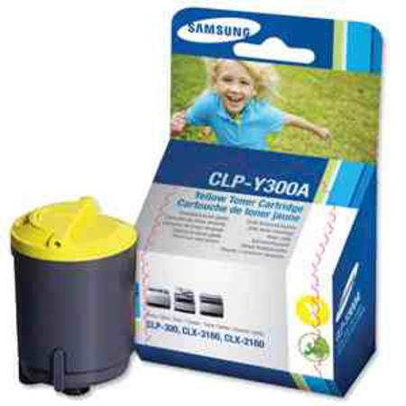Samsung CLP-Y300A Original Yellow Toner Cartridge