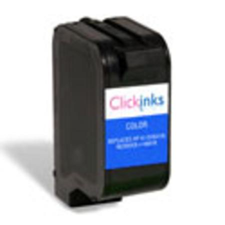 HP 41 TriColor Remanufactured Printer Ink Cartridge (51641A)