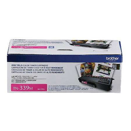 Brother TN339M Magenta Original Extra High Capacity Toner Cartridge