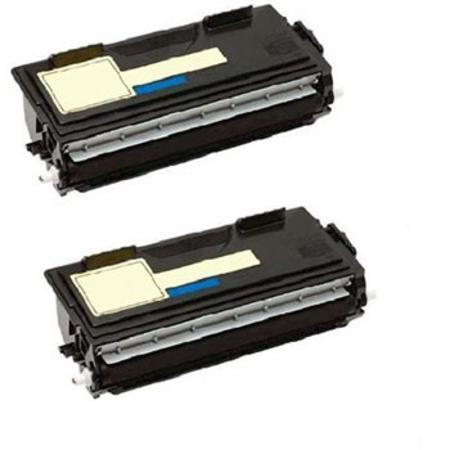 Compatible Twin Pack Brother TN460 Black Toner Cartridges
