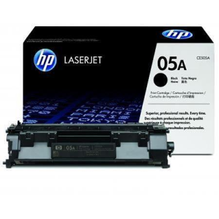HP CE505A Original Black Standard Capacity Toner Cartridge