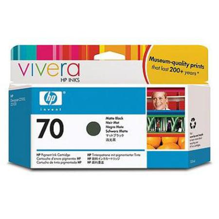 HP 70 Original Matte Black Print Cartridge (C9448A)