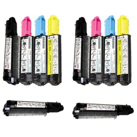 310-5726/5727/5730/5731  2 Full Set + 2 EXTRA Remanufactured Toners