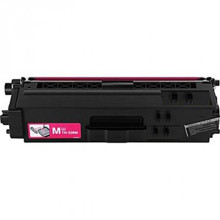 Brother TN336M Magenta Remanufactured High Capacity Toner Cartridge