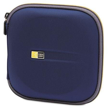 Case Logic CD Wallet  Holds 24 Disks  Blue