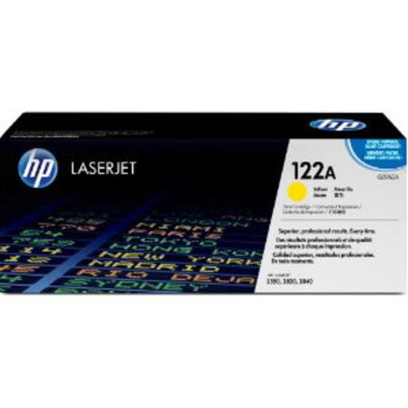 HP Color LaserJet Q3962A Yellow Original Print Cartridge with Smart Printing Technology