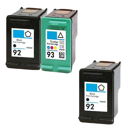 Compatible Multipack HP 92/93 Full Set + 1 EXTRA Black Ink Cartridges