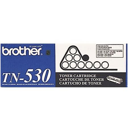 Brother TN530 Original Black Standard Capacity Laser Toner