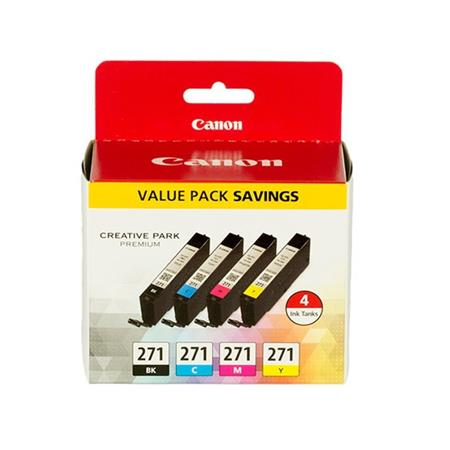 Canon CLI-271 Multipack Original Standard Capacity Ink Cartridge (4 Pack)