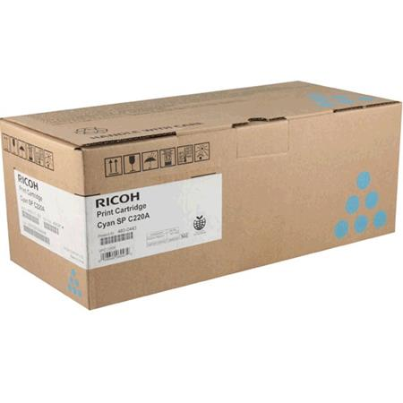 Ricoh 406047 Cyan Original Toner Cartridge