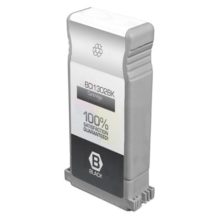Compatible Black Canon BCI-1302BK Ink Cartridge (Replaces Canon 7717A001AA)
