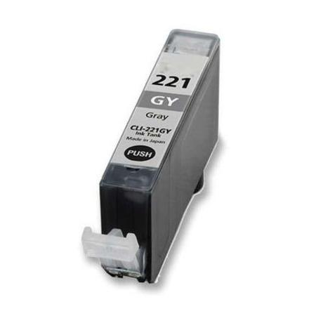 Compatible Grey Canon CLI-221GY Ink Cartridge (Replaces Canon 2950B001)
