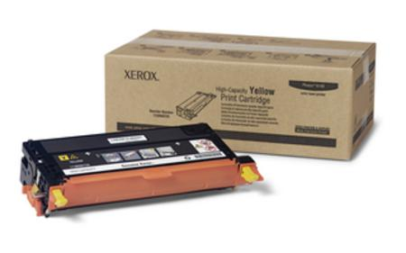 Xerox 113R00725 Yellow Original High Capacity Toner Cartridge