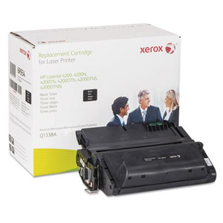 Xerox Premium Replacement Black Standard Capacity Toner Cartridge for HP 38A (Q1338A)