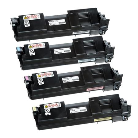 Ricoh 408176/179 K/C/M/Y Full Set Original Toner Cartridges
