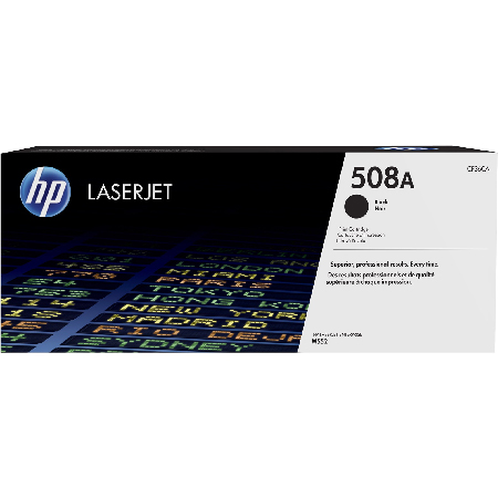 HP 508A Black Original Standard Capacity Toner Cartridge (CF360A)