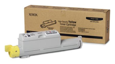 Xerox 106R01220 Yellow Original High Capacity Toner Cartridge