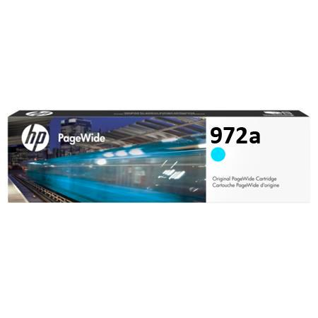 HP 972A (L0R86AN) Cyan Original Standard Capacity PageWide Cartridge
