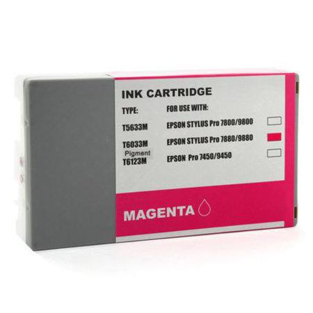 Compatible Magenta Epson T6033 Ink Cartridge (Replaces Epson T603300)