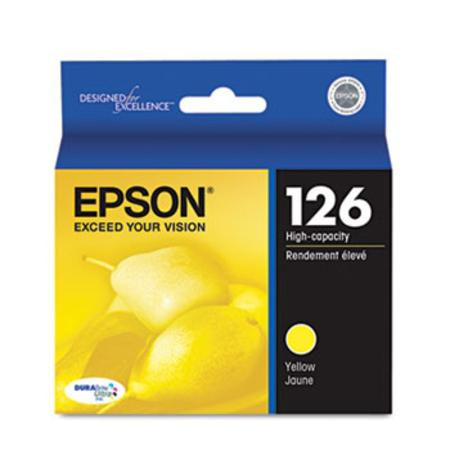 Epson 126 Yellow Original High Capacity Ink Cartridge
