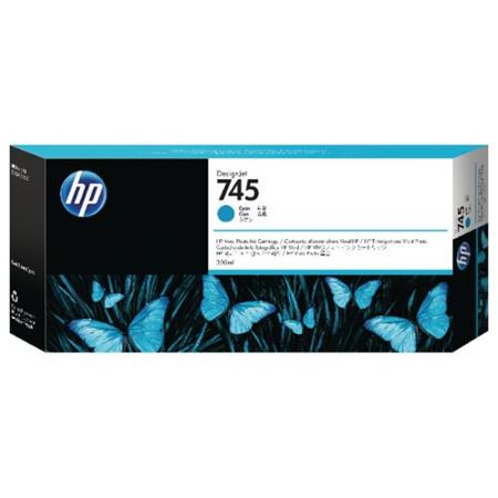 HP 745 (F9K03A) Cyan Original High Capacity Ink Cartridge