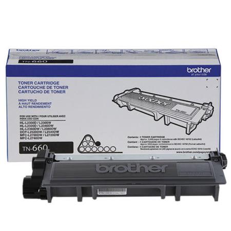 Brother TN-660 Original High Capacity Black Toner Cartridge