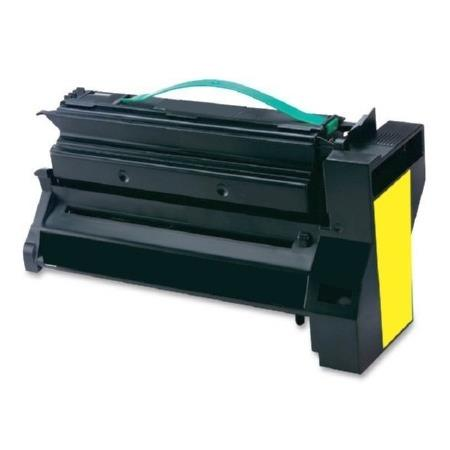 Compatible Yellow Lexmark C782X2YG Extra High Yield Toner Cartridge